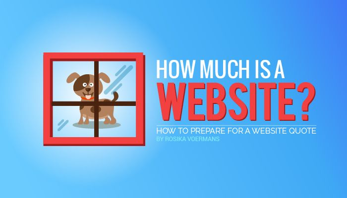 Hello. How much is a website?
